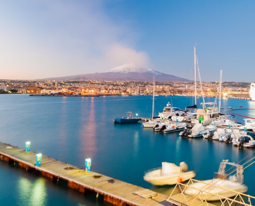 Catania, Italy Private Jet Charter