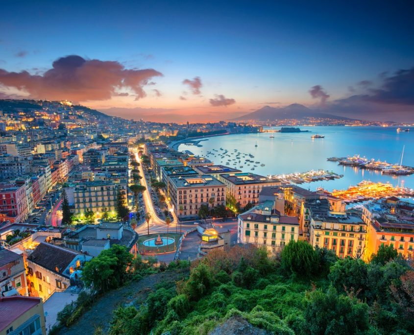 Naples, Italy Private Jet Charter