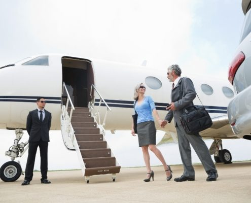 What is the Hourly Rate for a Private Jet Charter